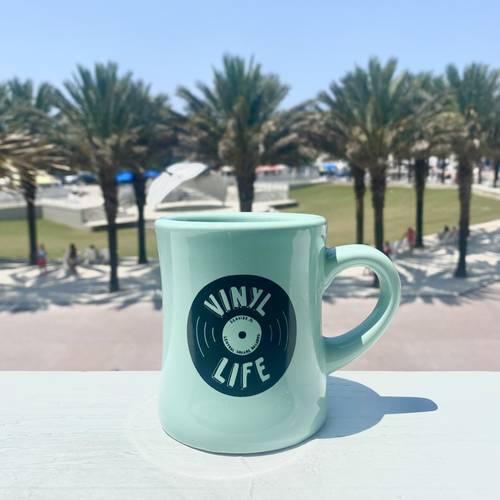 CSR Merch - MINT VINYL LIFE COFFEE MUG