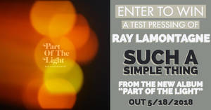 Enter To Win - Ray Lamontagne Test Pressing!