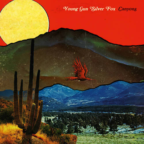 Young Gun Silver Fox - Canyons [Indie Exclusive Limited Edition Opaque Red LP]