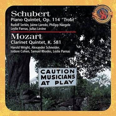Schubert: Piano Quintet In A M