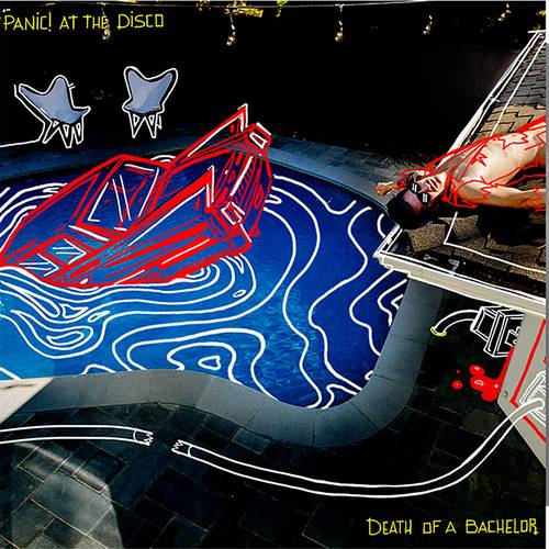 Panic! At The Disco - Death Of A Bachelor: FBR 25th Anniversary [Silver LP]
