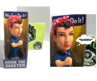 - Rosie The Riveter Nodder