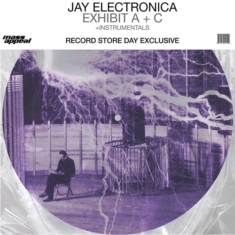 Jay Electronica Exhibit A   C Picture Disc