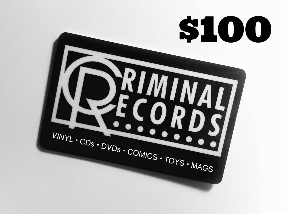 - Criminal Records $100 Physical Gift Card For Instore Redemption only