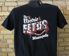 ONE DAY ONLY! Free shipping on your Electric Fetus T-shirt order