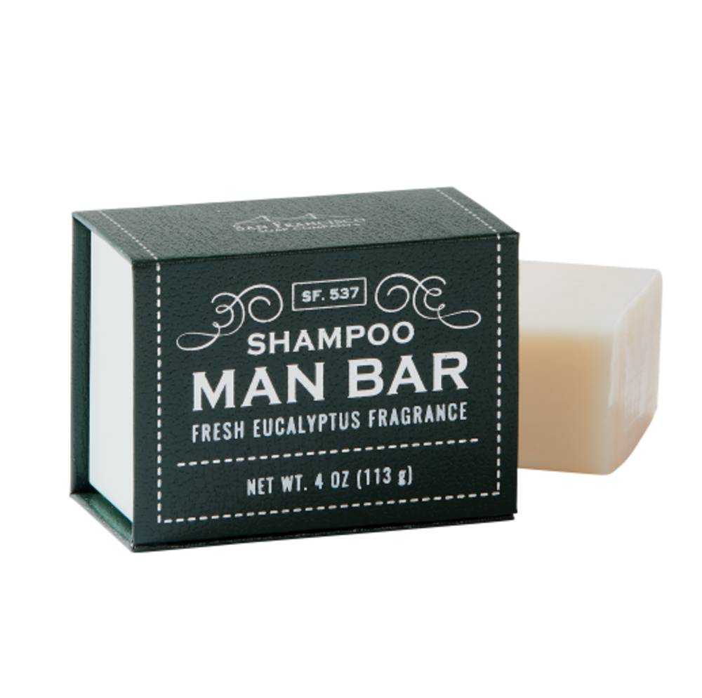 Shampoo - Shampoo Man Bar [Fresh Eucalyptus]