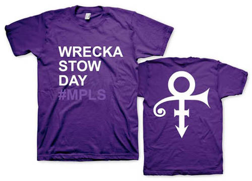 2XL Wrecka Stow Day Prince T-Shirt