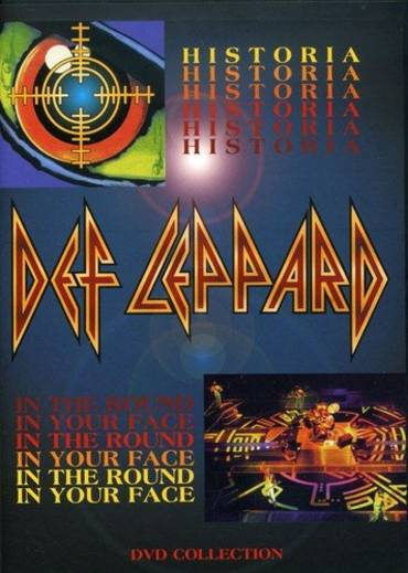 Def Leppard - Historia / In the Round, In Your Face [DVD]