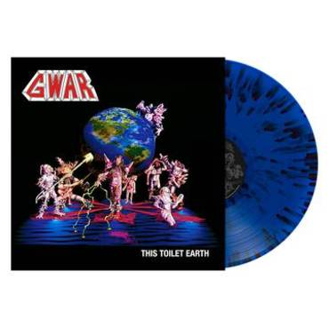 This Toilet Earth [Blue with Black Splatter LP]