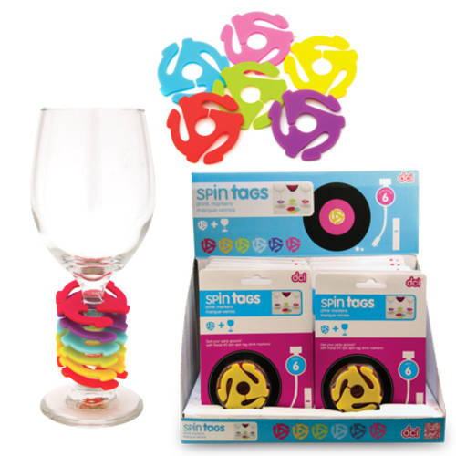 Spin Tags Drink Markers