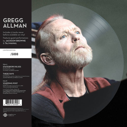... Live Picture Disc [10 Inch Vinyl]