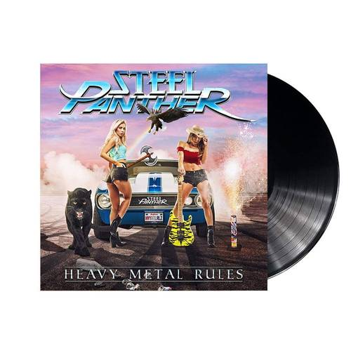 Heavy Metal Rules [LP]