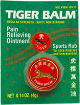 - Tiger Balm Regular 4g White