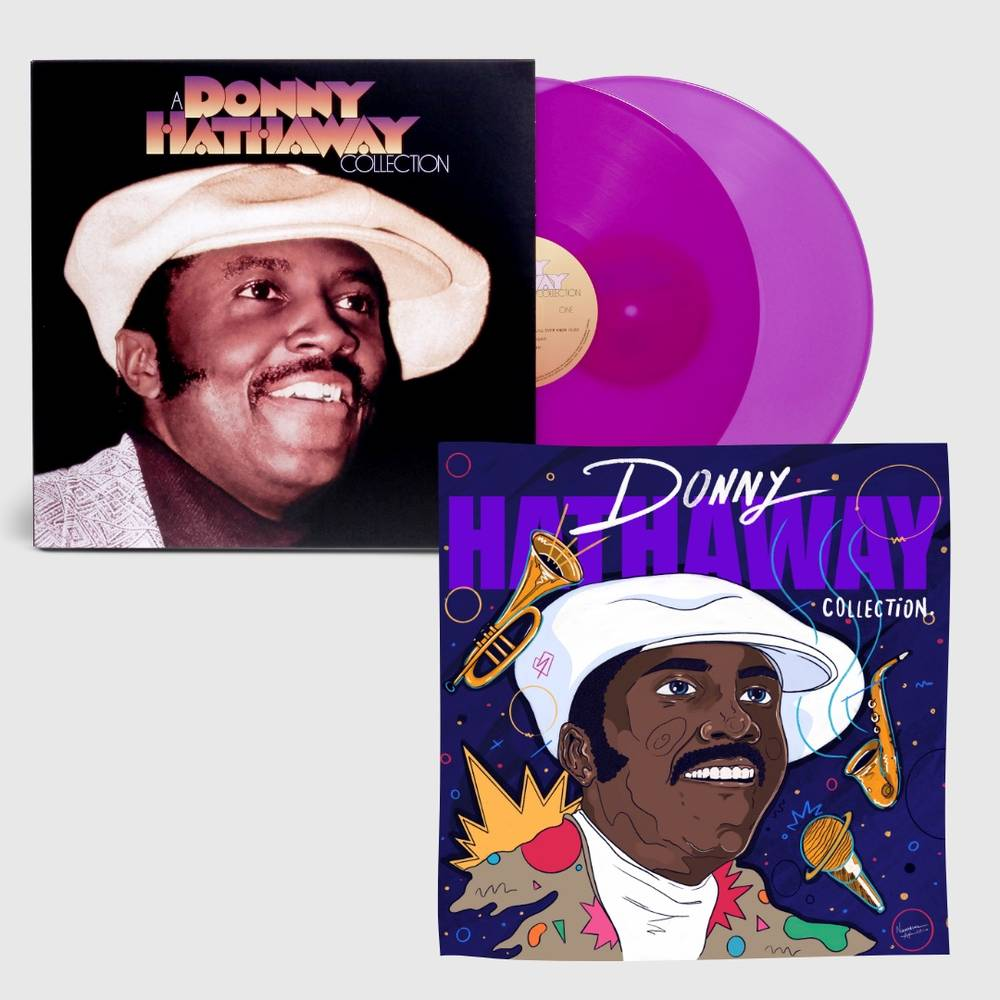 Donny Hathaway - A Donny Hathaway Collection [Limited Edition Print] [Purple 2LP]