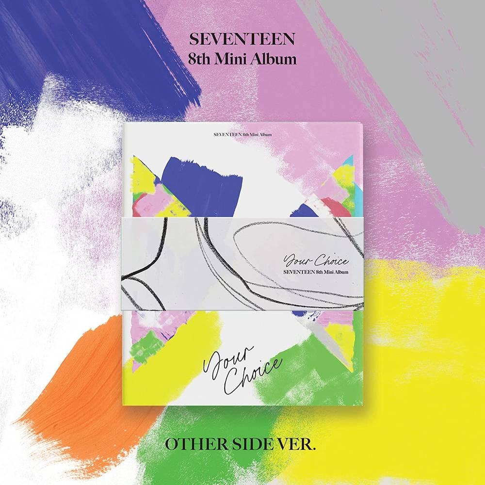 Seventeen - SEVENTEEN 8th Mini Album 'Your Choice' [OTHER SIDE version]