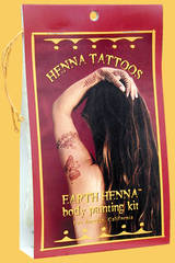 - Earth Henna Body Painting Kit