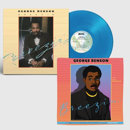 George Benson - Breezin' [Limited Edition Print] [Blue/Badge LP]