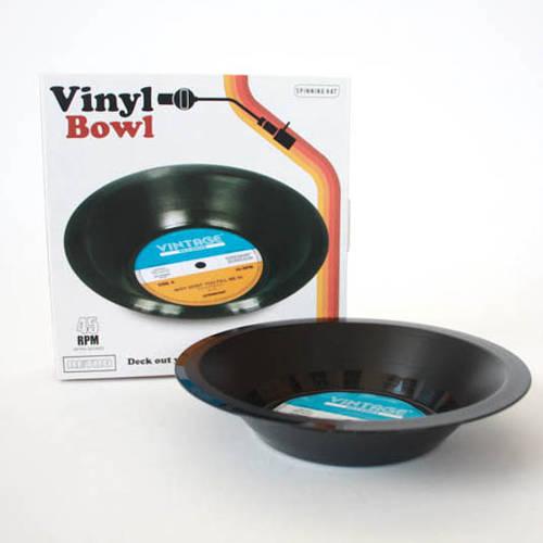Decorative Bowl - Retro Vinyl Record