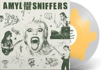 Amyl and The Sniffers - Amyl and The Sniffers [Indie Exclusive Limited Edition Egg Colored LP]