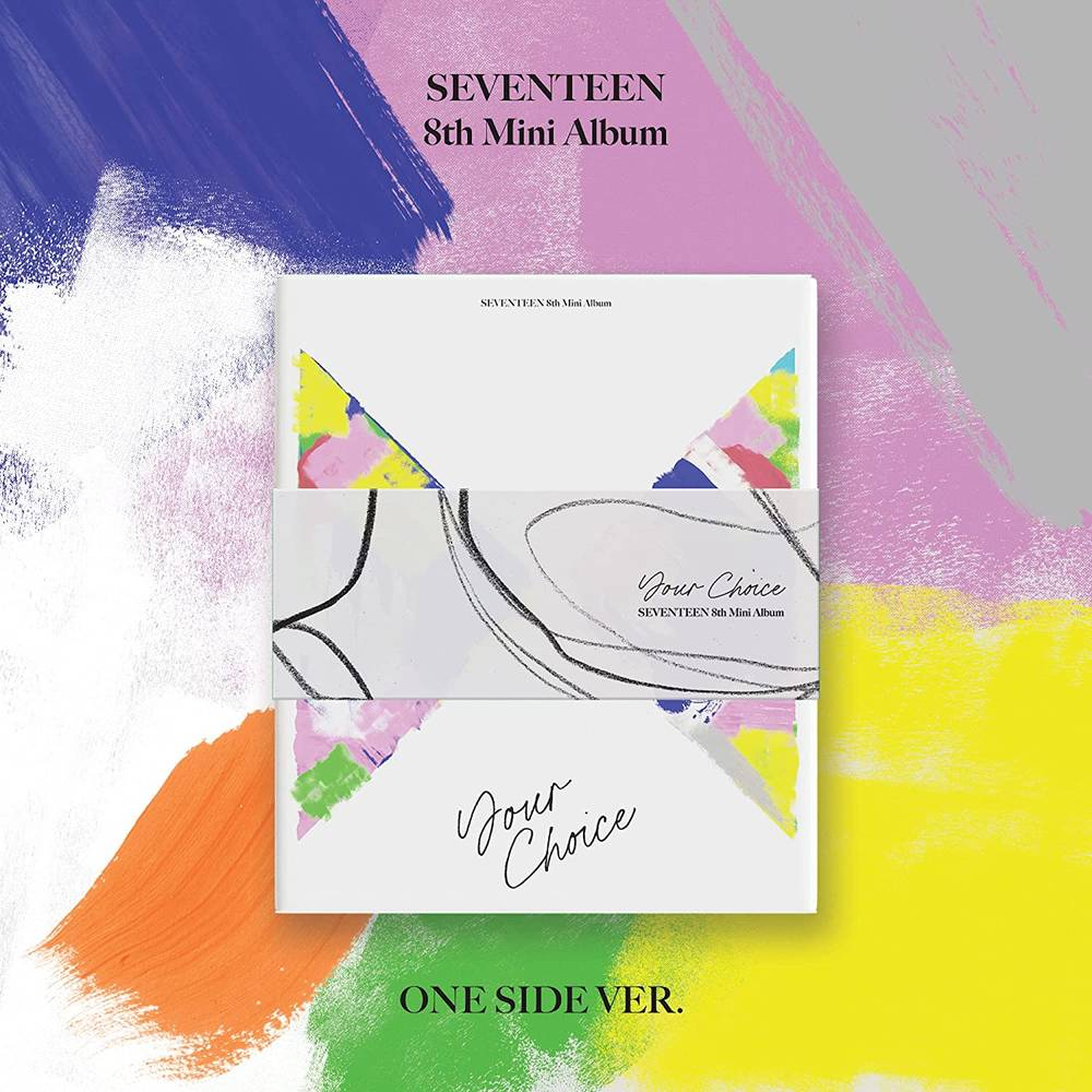 Seventeen - SEVENTEEN 8th Mini Album 'Your Choice' [ONE SIDE version]