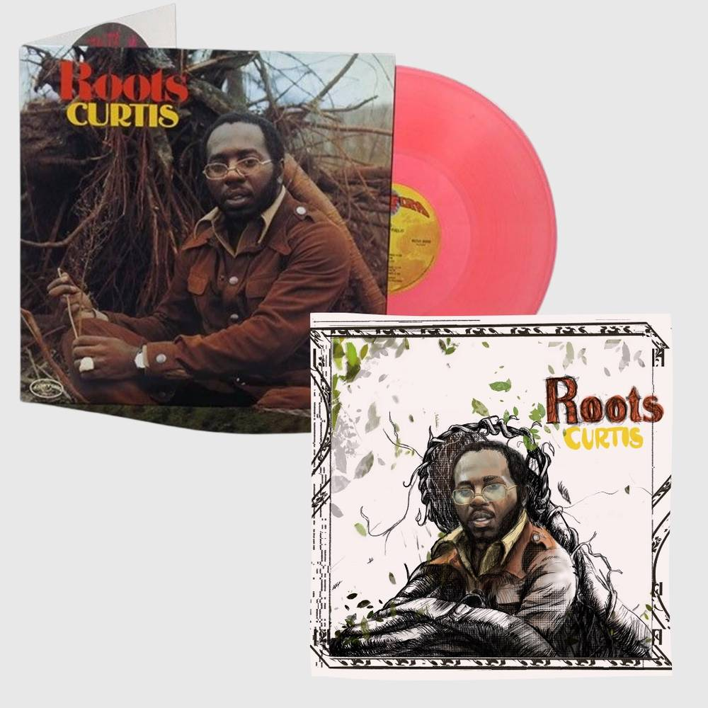 Curtis Mayfield - Roots [Exclusive Limited Edition Print] [Orange LP]