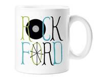 - Rockford Ceramic Coffee Mug (stacked w/record)