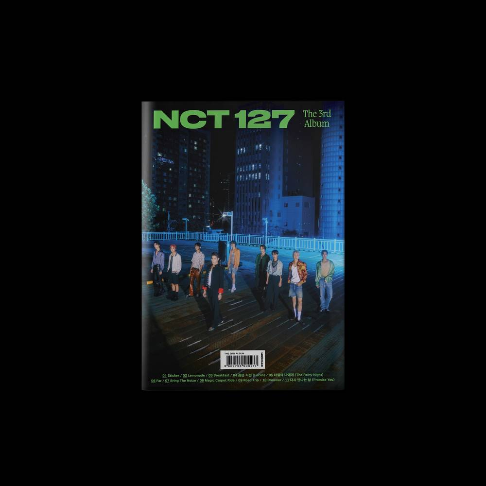 NCT 127 - The 3rd Album 'Sticker' [Seoul City Ver.]