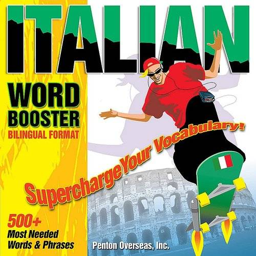Vocabulearn Word Boosters: Italian - Bilingual Format