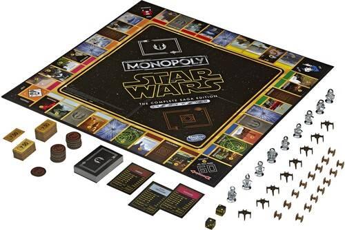 Star Wars - Monopoly Star Wars Saga