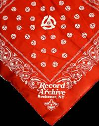 Record Archive - R.A. Bandana Red