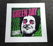 GREEN DAY - Free Lithograph