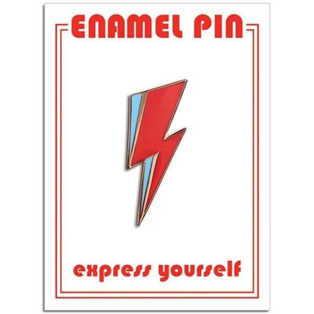 Pin - Bowie - Lightning Bolt