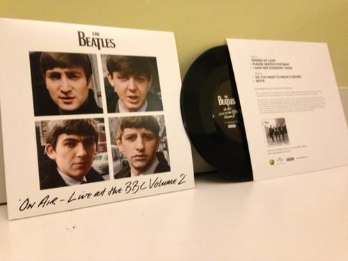 THE BEATLES - Free EP