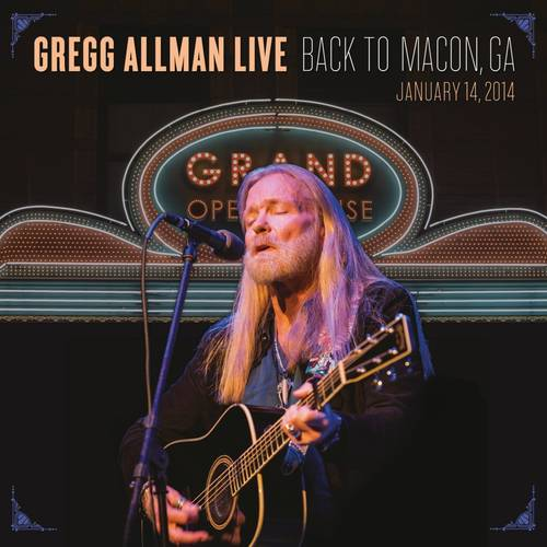 Gregg Allman Live: Back To Macon, GA [2 CD/DVD Combo]