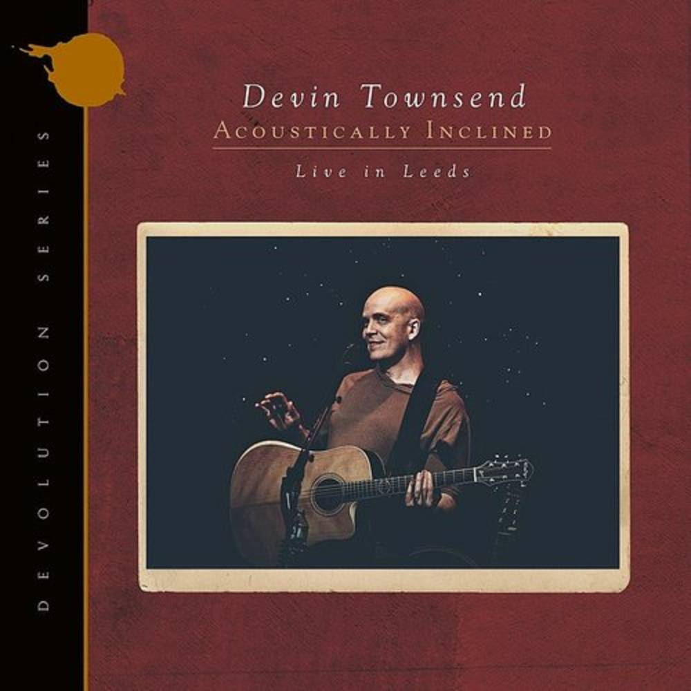 Devin Townsend - Devolution Series #1 - Acoustically Inclined, Live In Leeds [Indie Exclusive Limted Edition Ruby 2LP]