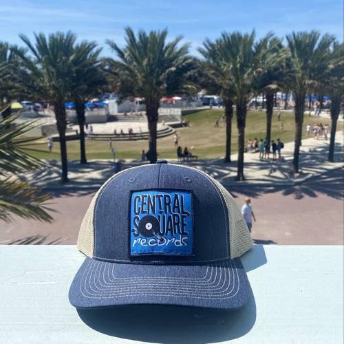 - TRUCKER HAT (BLUE)