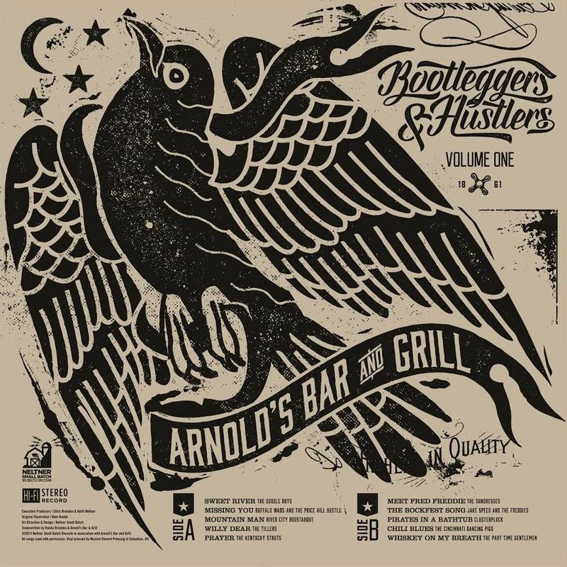 VARIOUS ARTISTS ARNOLD'S BOOTLEGGERS AND HUSTLERS VOL. 1 ARNOLD'S BOOTLEGGERS AND HUSTLERS VOL. 1