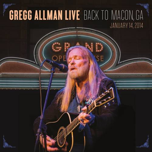 Gregg Allman Live: Back To Macon, GA [2 CD]