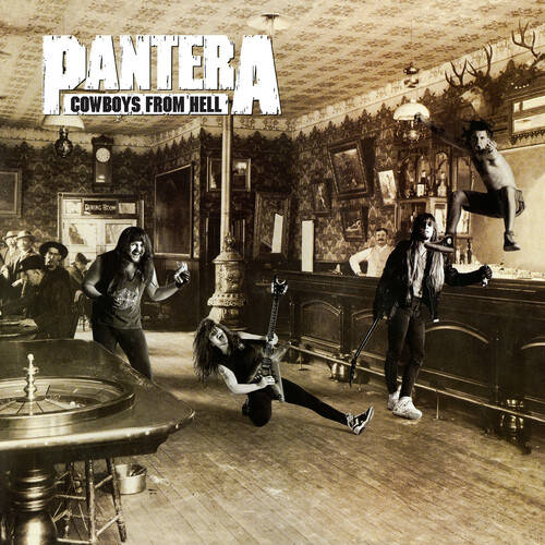 Pantera - Cowboys From Hell [Indie Exclusive Limited Edition Marbled Brown LP]