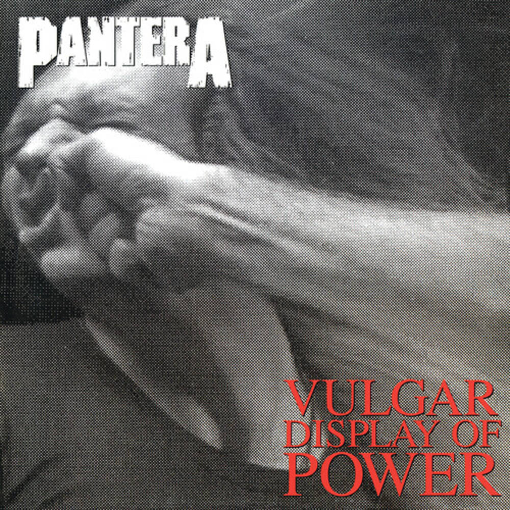 Pantera - Vulgar Display Of Power [Indie Exclusive Limited Edition Marbled Black/Grey LP]