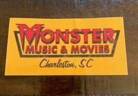 Monster Music - LOGO STICKER