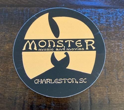 Monster Music - STICKER-W