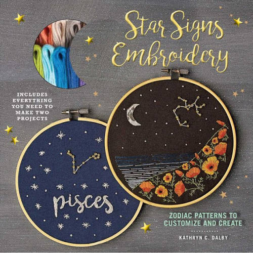 Art Supply - Star Signs Embroidery Kit