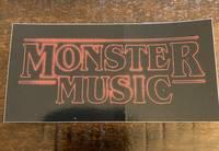 Monster Music - STICKER-S