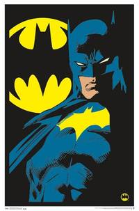 Blacklight - BATMAN BLACKLIGHT POSTER