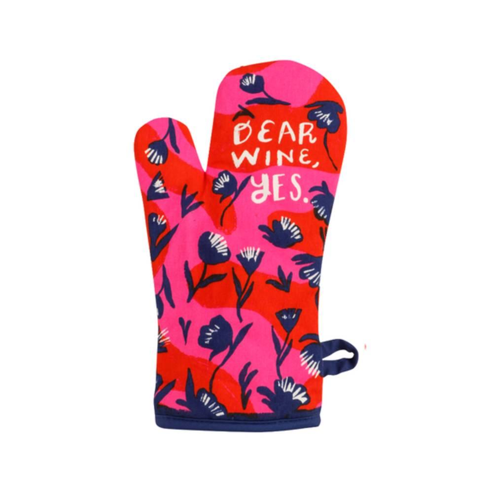 Oven Mitt - Dear Wine, Yes