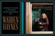 Enter to Win a Guitar Autographed by Warren Haynes