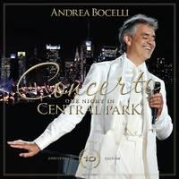 Andrea Bocelli - Concerto: One Night In Central Park - 10th Anniversary [CD/DVD]