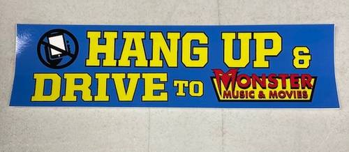 Monster Music - STICKER-HANG UP