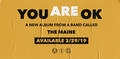 The Maine - You Are OK (Indie Exclusive Ltd Ed)